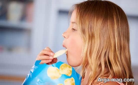 انواع خوراکی های صنعتی برای کودکان