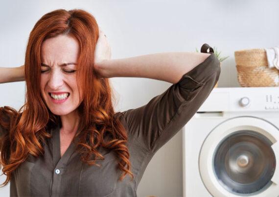 آشنایی با علت صدای ماشین لباسشویی