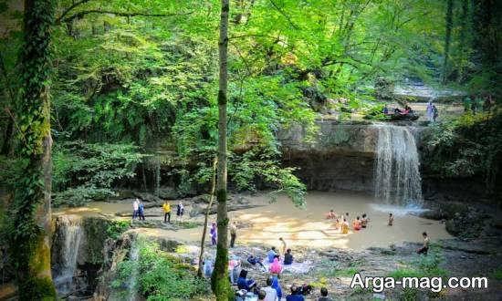 آبشار تیرکن استان مازندران