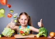 مصرف سبزیجات برای کودکان