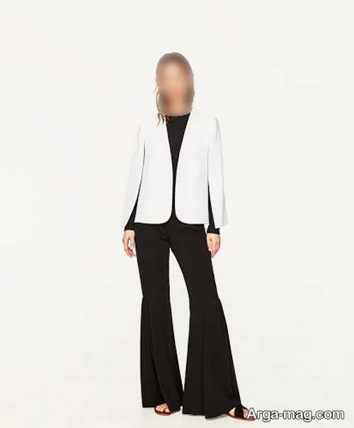 کت زنانه سفید