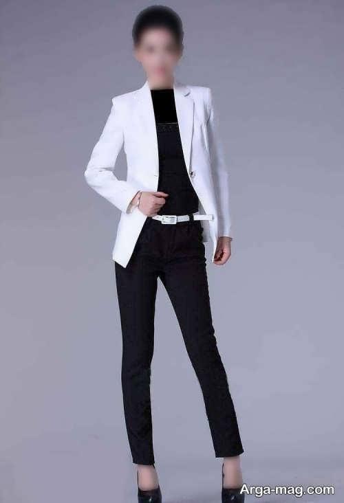کت سفید زنانه و دخترانه