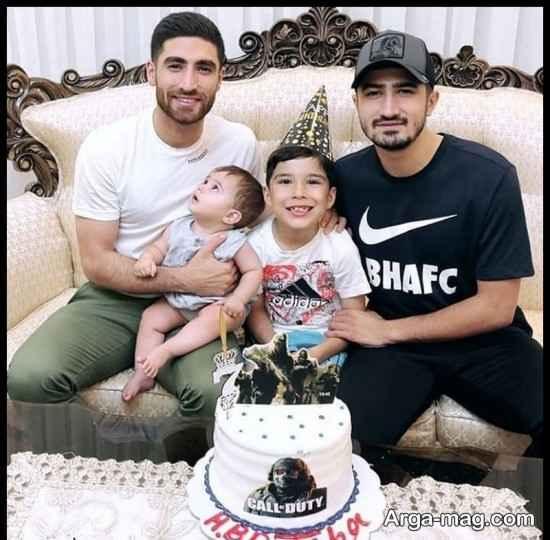 عکس هایی از علیرضا جهانبخش در کنار خانواده اش