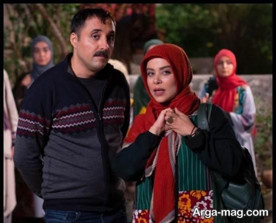 عکس های الهام اخوان بازیگر سریال دودکش 2