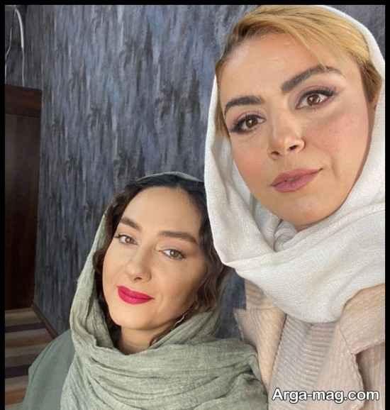 عکس های سانسور شده هانیه توسلی در برنامه همرفیق