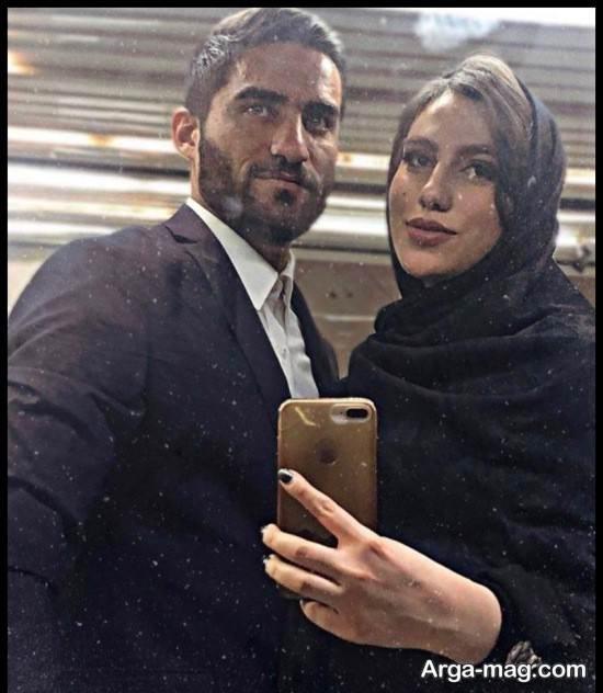 عکس های مهرداد محمدی در کنار همسرش
