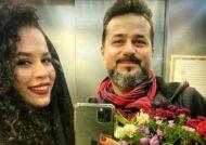 پست ملیکا شریفی نیا در روز تولد پدرش