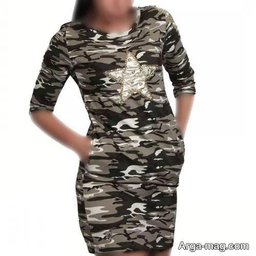 مدل های لباس چریکی