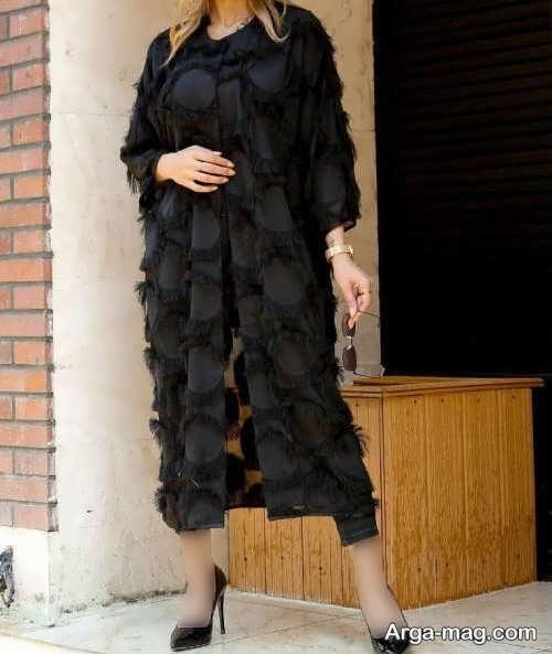 مدل مانتو ریش بابا بلند