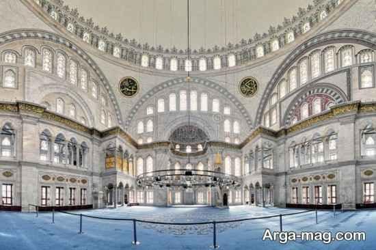 نگاهی به مسجد نور عثمانیه در استانبول