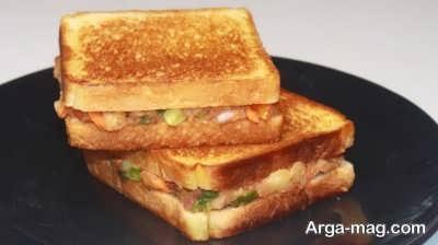 طرز تهیه ساندویچ سیب زمینی چگونه است