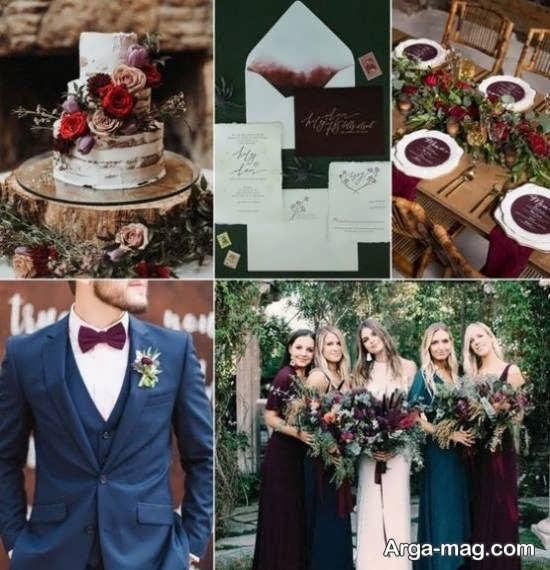 انواع تم عروسی