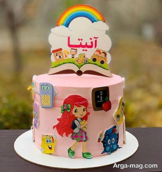 ایده هایی زیبا و منحصر به فرد از تزیین کیک جشن الفبا