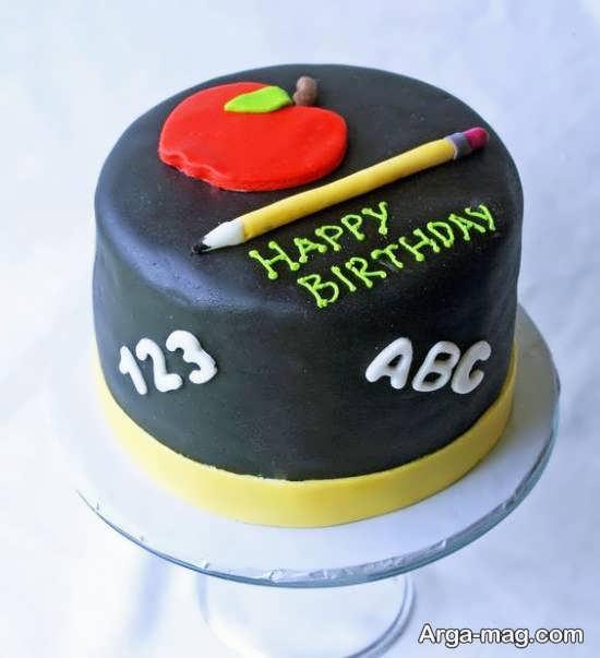 انواع نمونه های ایده آل دیزاین کیک جشن الفبا
