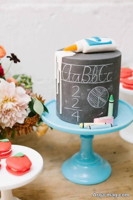 ایده های شیک زیباسازی کیک جشن الفبا
