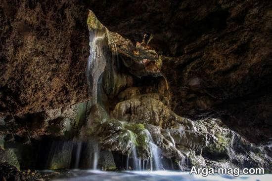 آبشار ارتکند از جاذبه های شهر مشهد