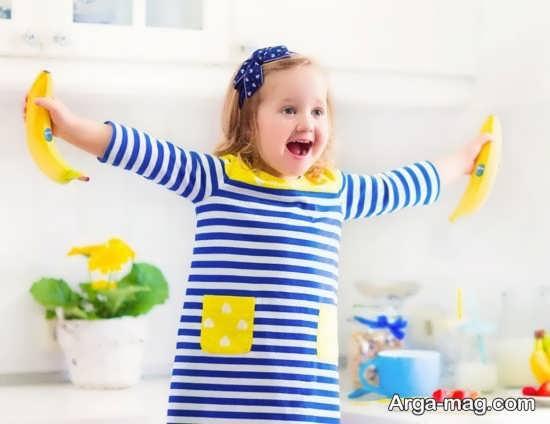 عوارض جانبی موز برای بچه ها