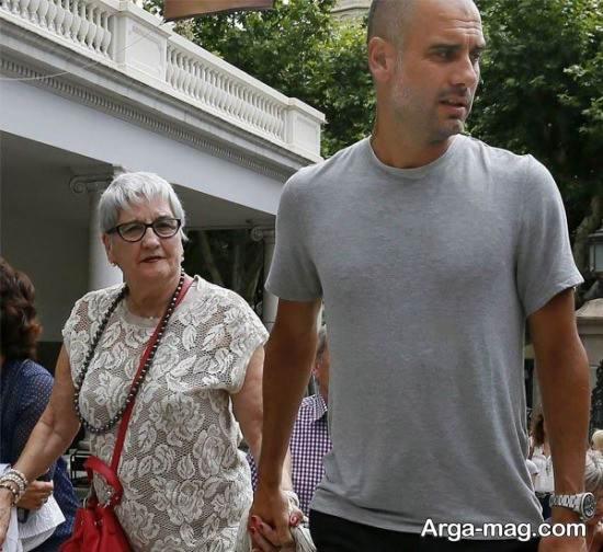 تاریخچه زندگی پپ گواردیولا و همسرش
