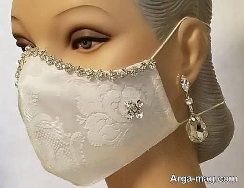 ماسک زیبا برای عروس و داماد