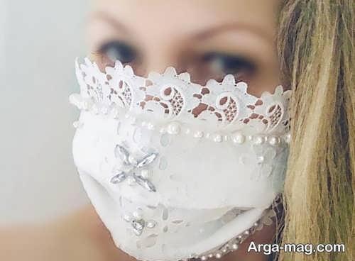 ماسک شیک و کار شده برای عروس و داماد