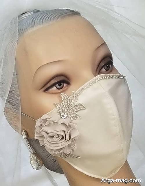 ماسک کار شده برای عروس