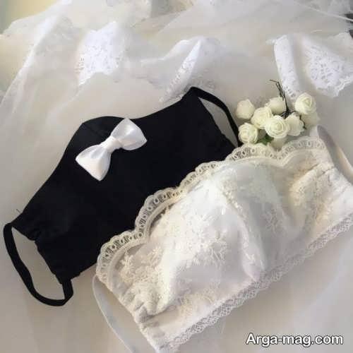 ماسک برای عروس و داماد