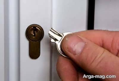 آموزش بیرون آوردن کلید از قفل