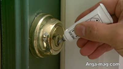 درآوردن کلید شکسته در قفل