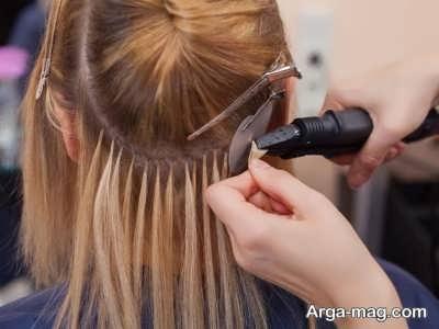 معایب و عوارض اکستنشن مو ها