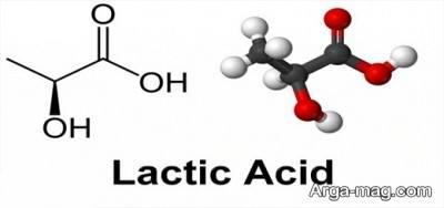 نشانه های اسید لاکتیک در بدن