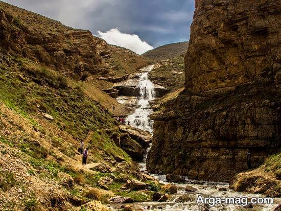 آبشار و دریاچه دریوک