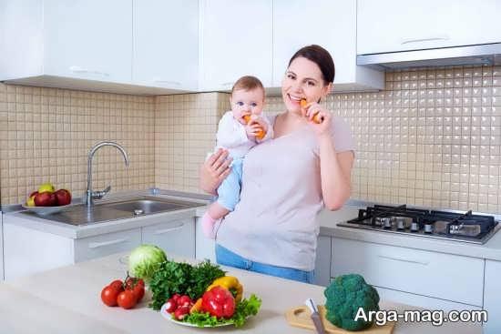 راه های رفع گرسنگی در مادران شیرده