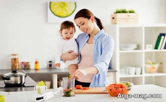 راه های موثر رفع گرسنگی شدید در مادران شیرده