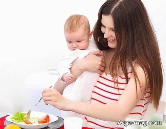 دلایل گرسنگی زیاد در شیردهی