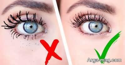 انواع اشتباهات رایج در آرایش چشم ها