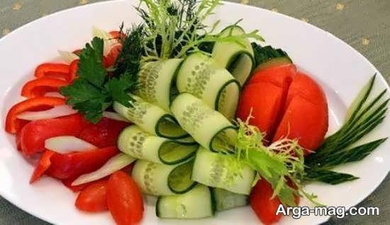 ایده هایی کاربردی و فوق العاده از دیزاین گوجه و خیار