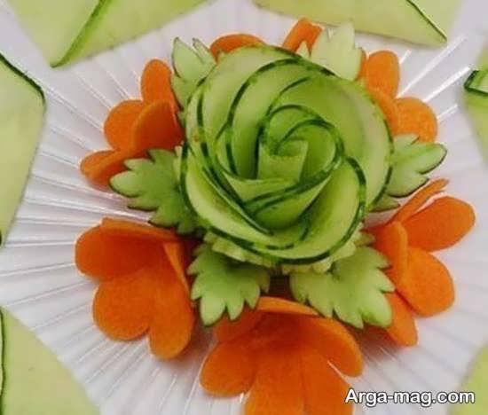 ایده های جذاب دیزاین گوجه و خیار