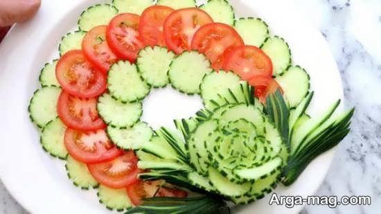 نمونه هایی بینظیر از دیزاین گوجه و خیار