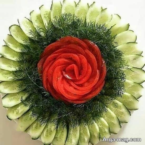 انواع ایده های زیبای دیزاین گوجه و خیار