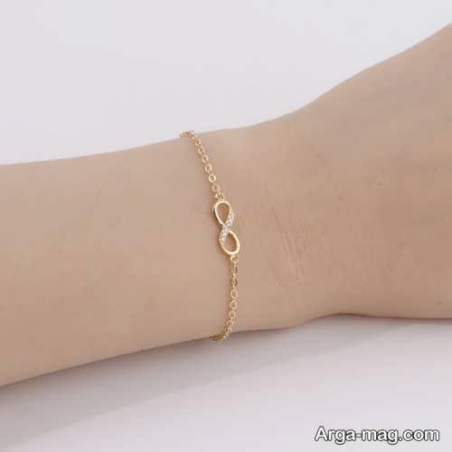 دستبند طلا و زیبا دخترانه