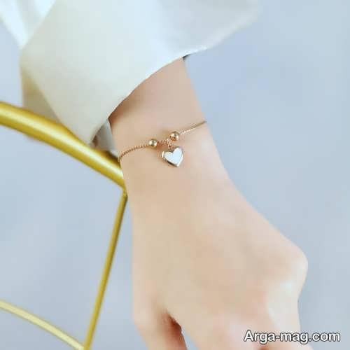 دستبند طلا و شیک دخترانه