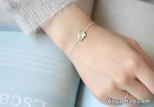 دستبند ساده دخترانه