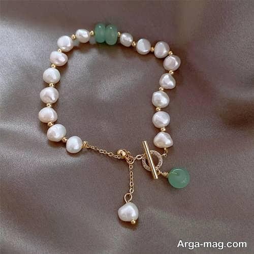 دستبند مرواریدی دخترانه