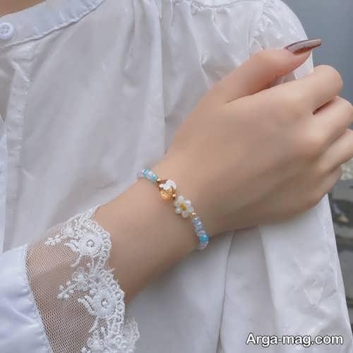 طرح دستبند دخترانه