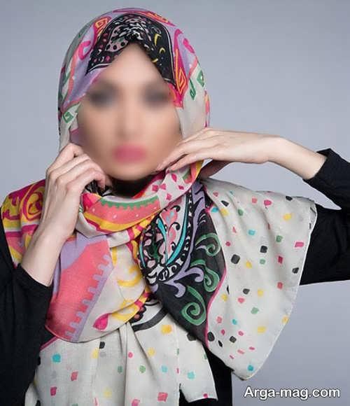 بستن روسری با روشی مناسب و جالب