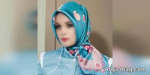 مدل بستن روسری باحجاب