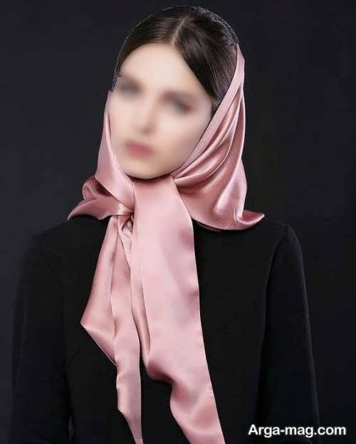 مدل مو از زیر روسری برای روز خواستگاری