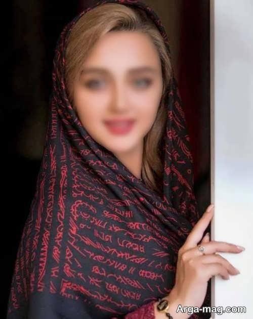 مدل مو زیر روسری برای مراسم خواستگاری