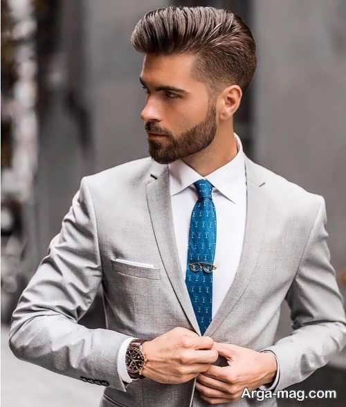 مدل مو آراسته مردانه برای روز خواستگاری