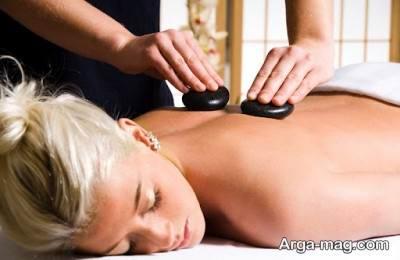 رفع خستگی و استرس با ماساژ درمانی